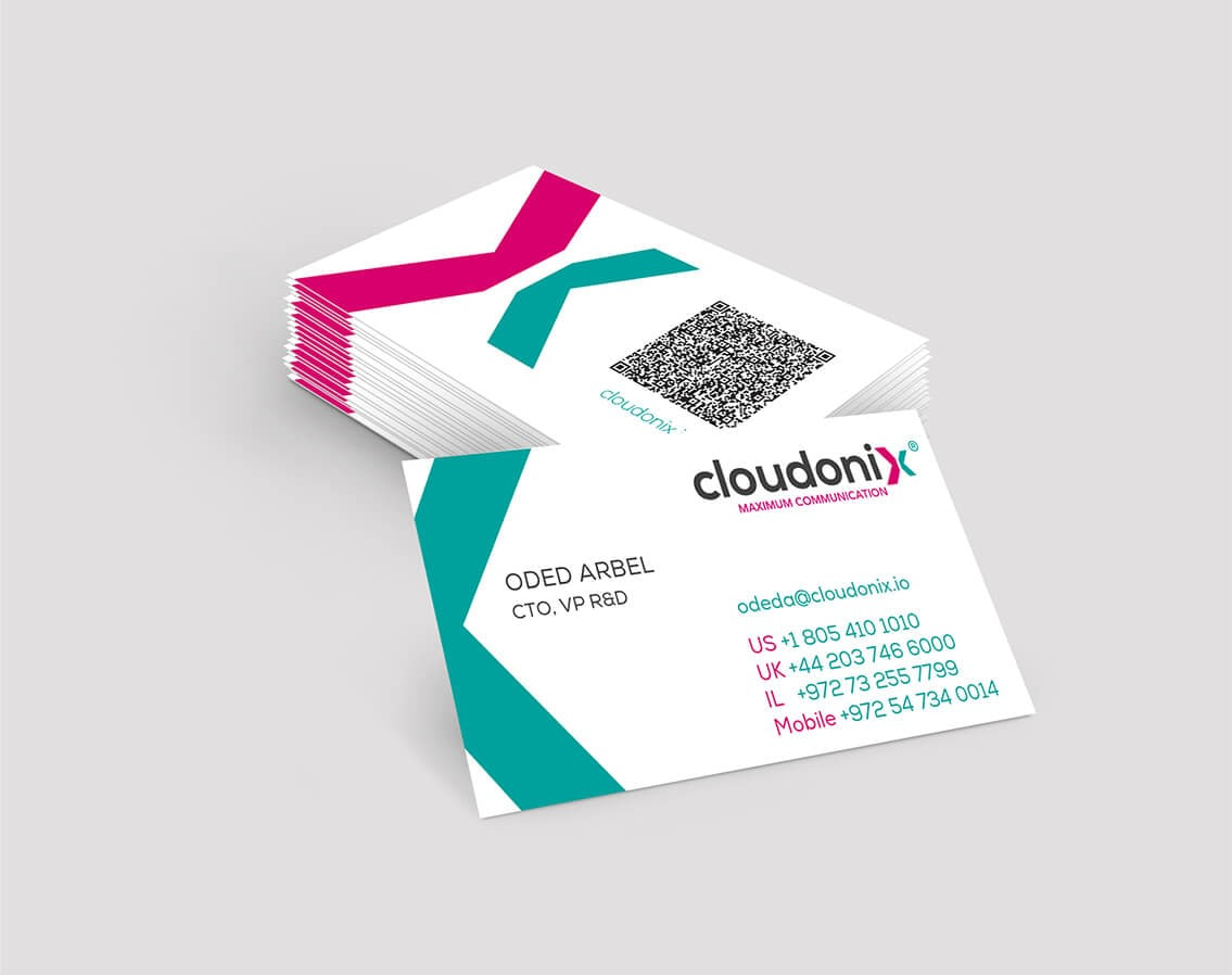 cloudonix business-cards